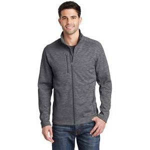 Port Authority® Men's Digi-Stripe Fleece Jacket