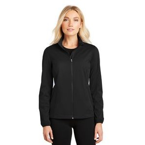 Port Authority® Ladies' Active Full Zip Soft Shell Jacket